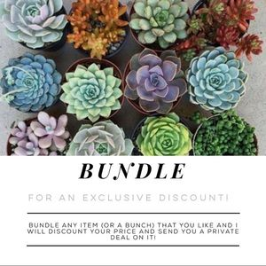 Other - BUNDLE For A Special Discount!!